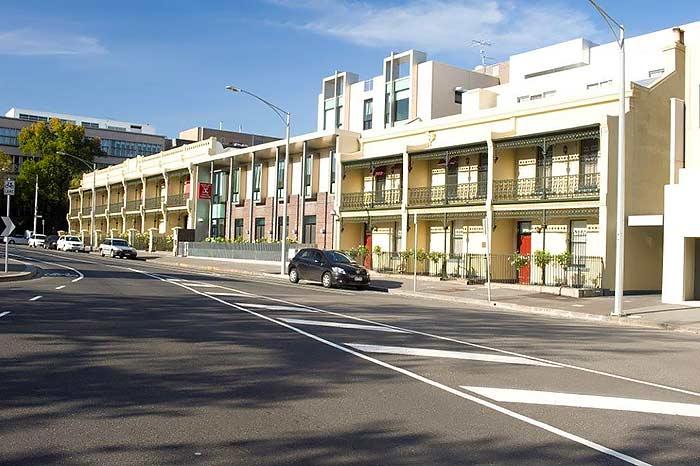 Graduate House, Carlton, Australia: Mad Max