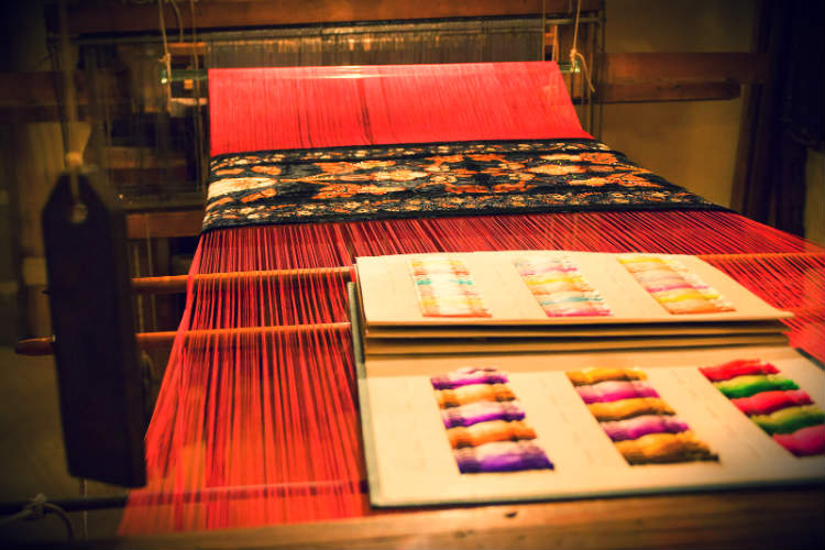 Silk weaving is just one of the many things you can enjoy in Lyon. Stay with University Rooms