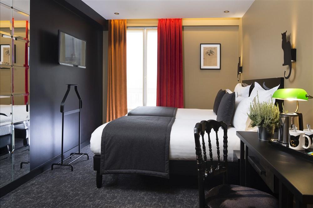 H Tel Le Chat Noir Paris Hotel Best Price Guarantee