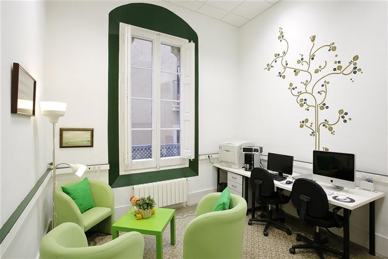 Sala informática residencia