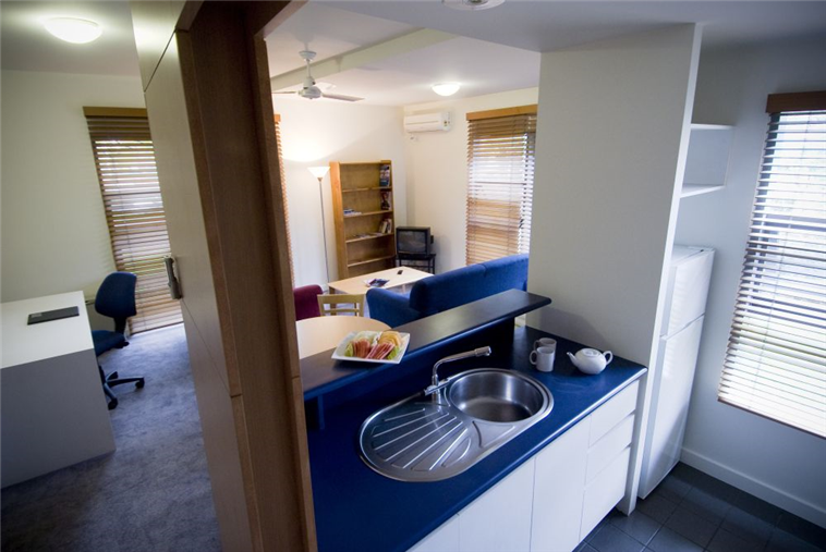 Apartments - Kitchen and Loungeroom