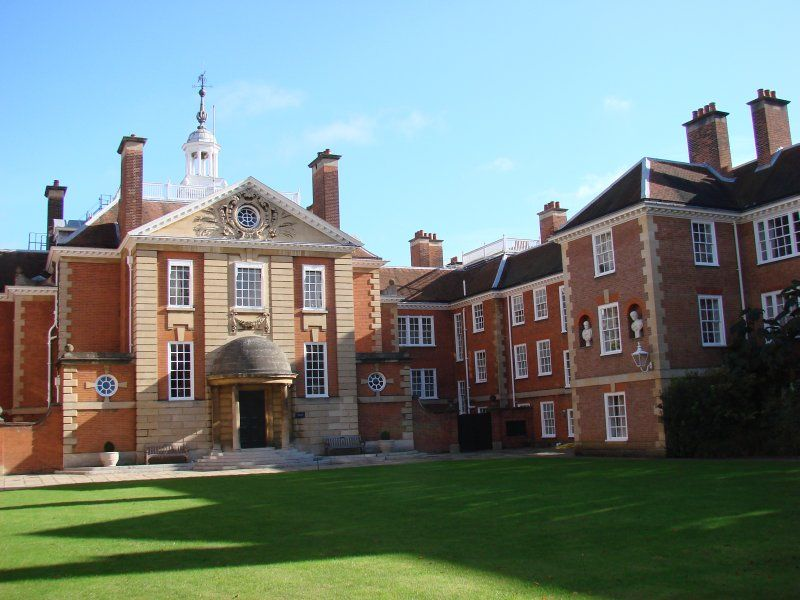 Front of College
