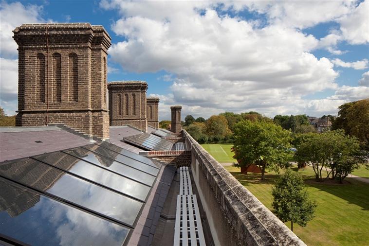 Solar Panel Roof on Chapel Court