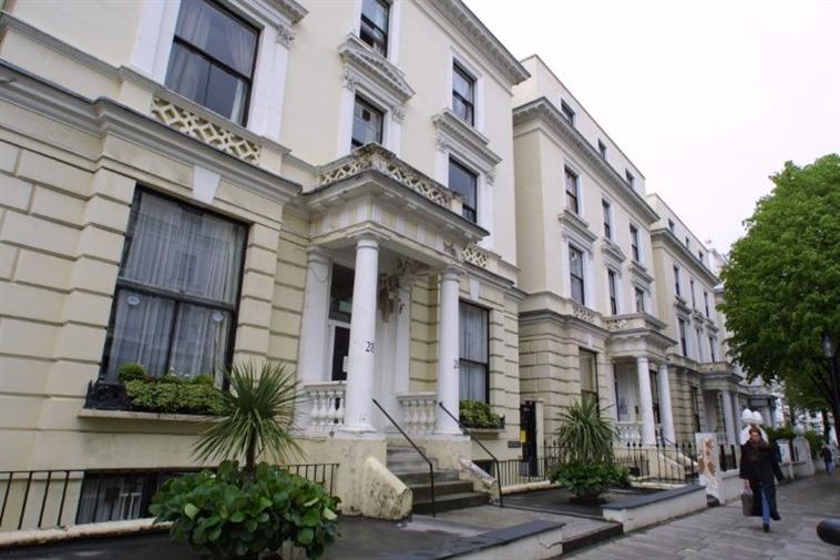 Front of Pembridge Hall