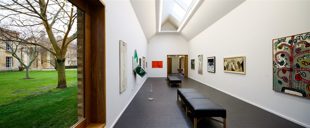 The Heong Gallery at Downing College