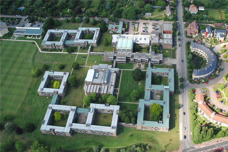 Churchill College Aerial View