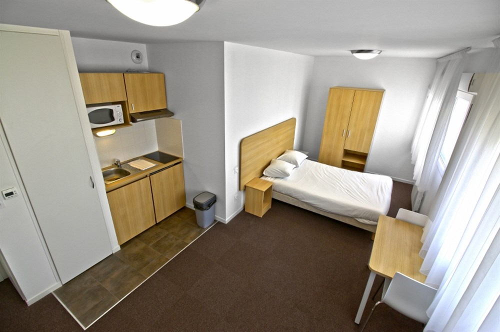 R sidence city park troyes guest b b book now for Appart hotel troyes
