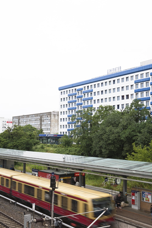 near public transport