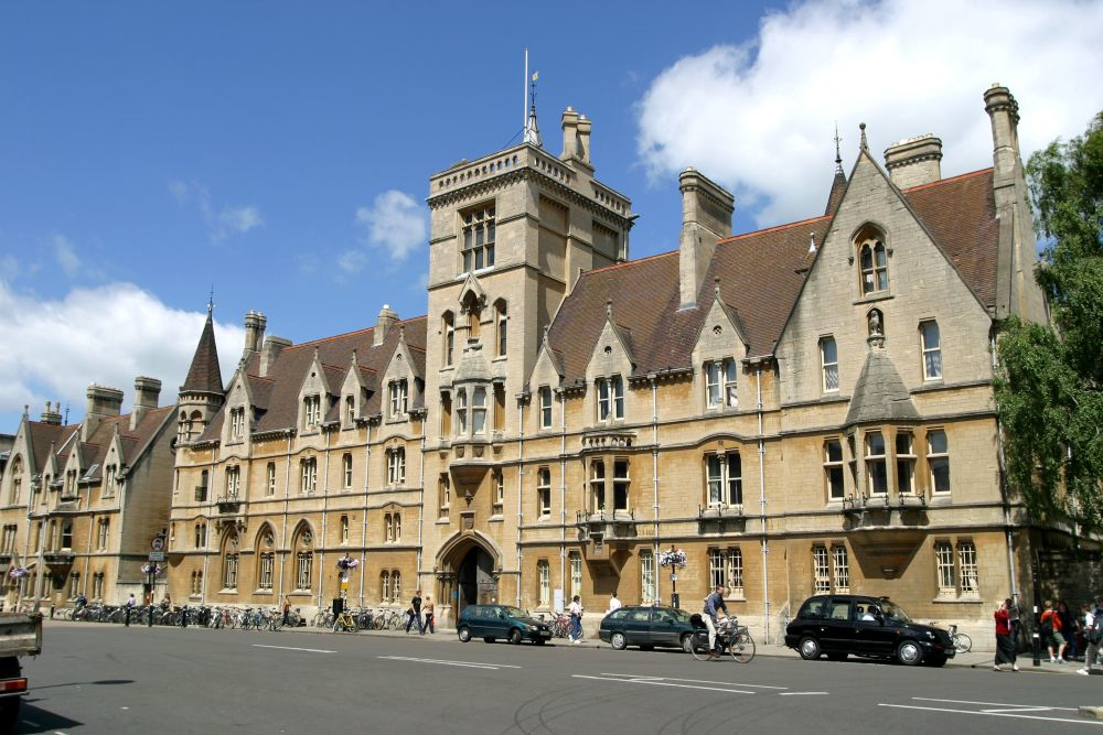 Main Entrance Balliol College