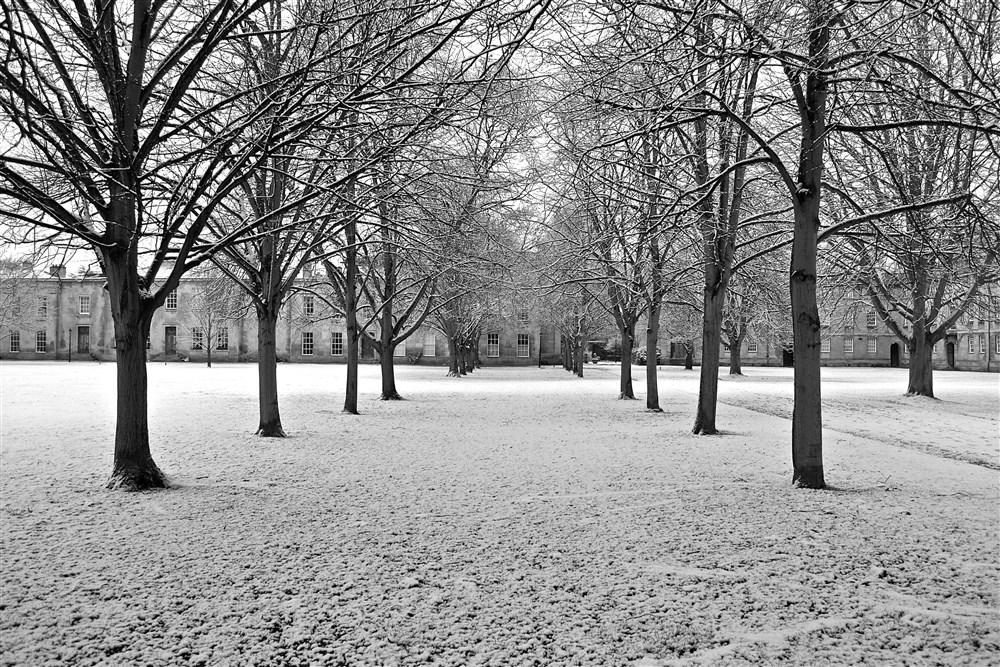 Snowfall on the Domus