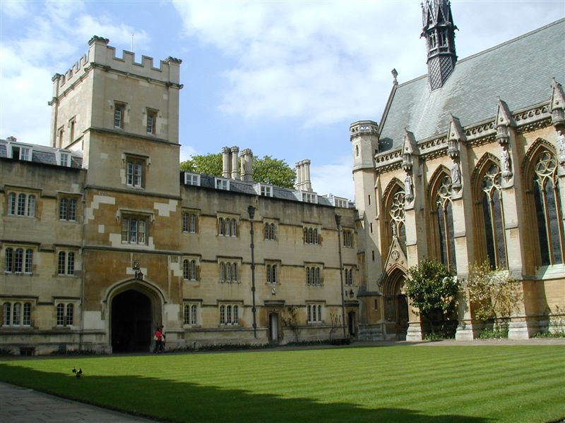 The College Chapel and Gatehouse