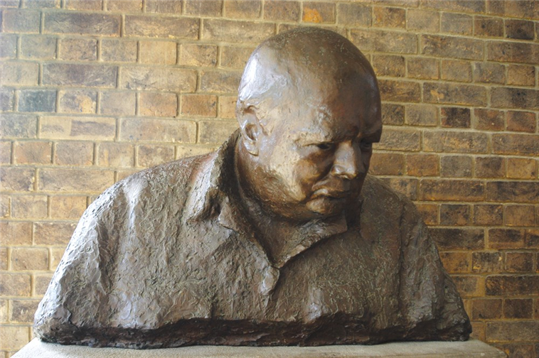Churchill Bust, Churchill College