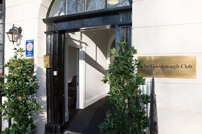Goodenough Club - Entrance