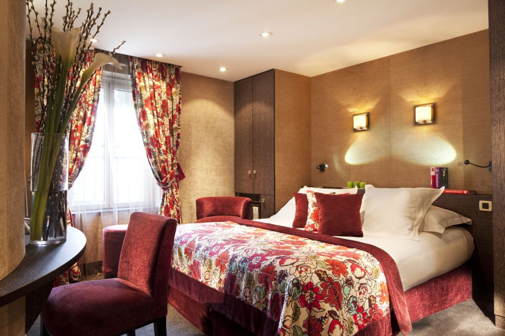 H tel de buci paris hotel best price guarantee for Chambre contemporaine