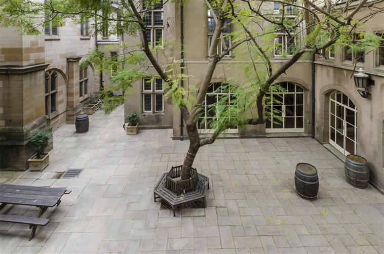 St Andrews Internal Courtyard