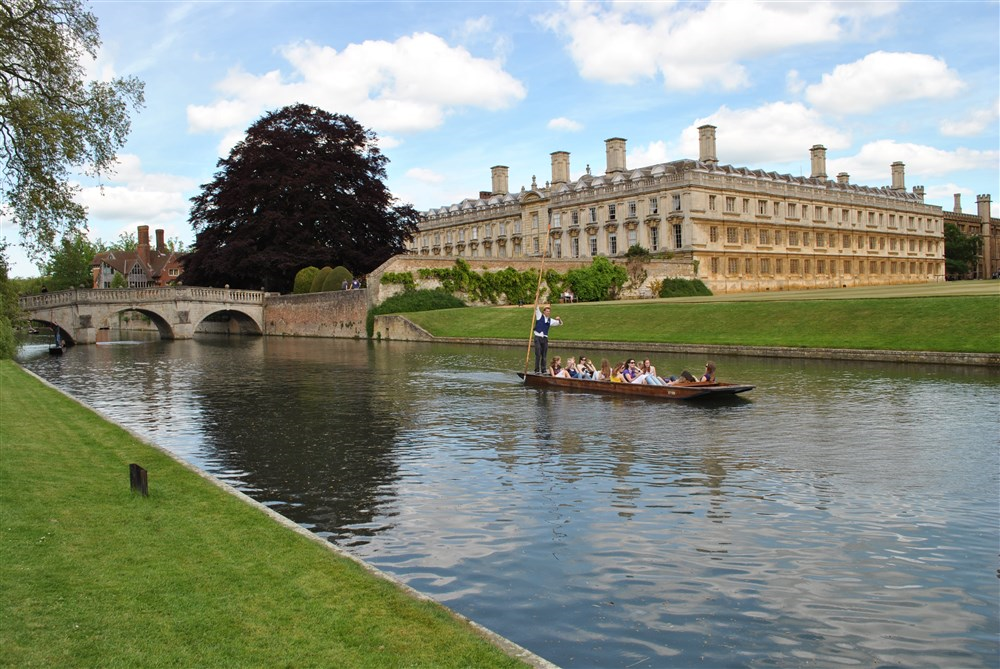 Old Court and the River Cam