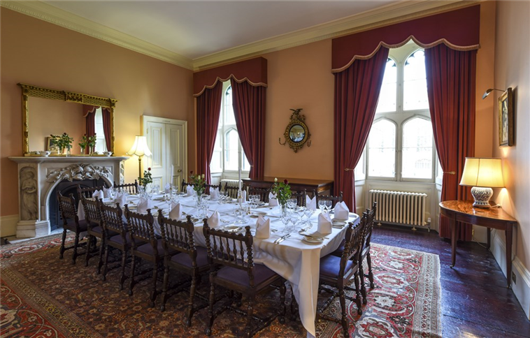 Saltmarsh reception room available to hire for events