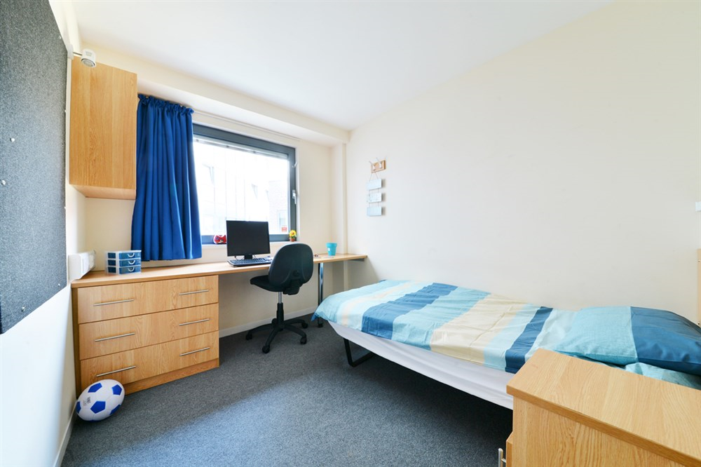 Chesil House Campus Accommodation Bournemouth Exterior Kitchen And Dining Area Bedroom