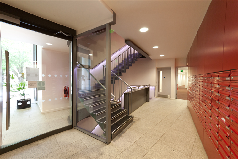 Eastside building foyer