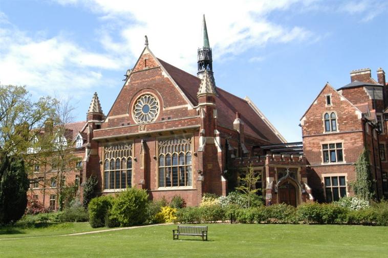 External View of Homerton College