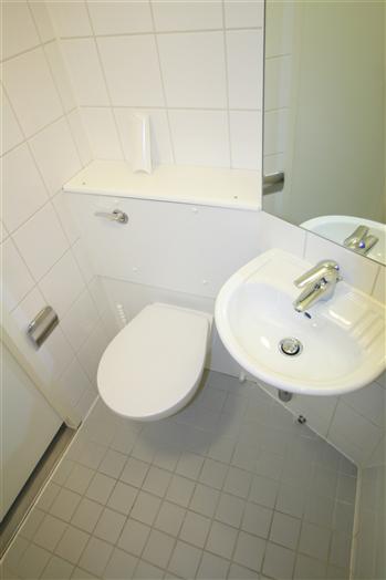 Typical en-suite bathroom