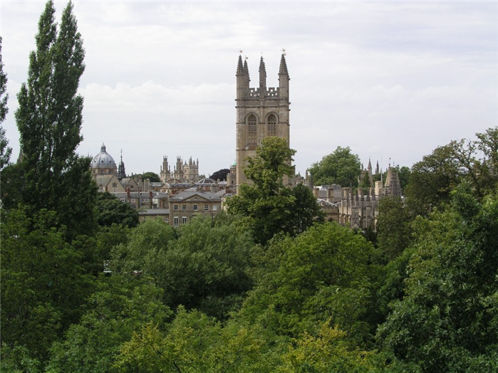 Magdalen from the Waynflete Building