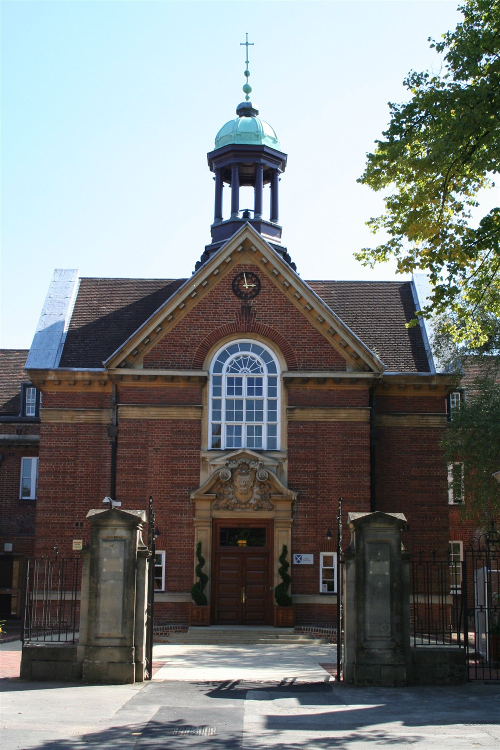 Main Entrance to St Hugh's
