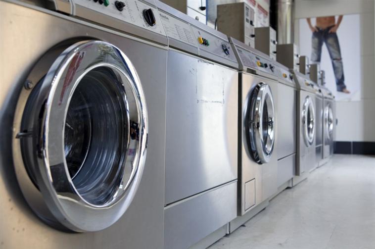 Self-service laundry room