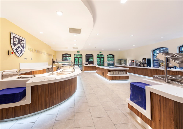 Dining Hall (Servery Area)
