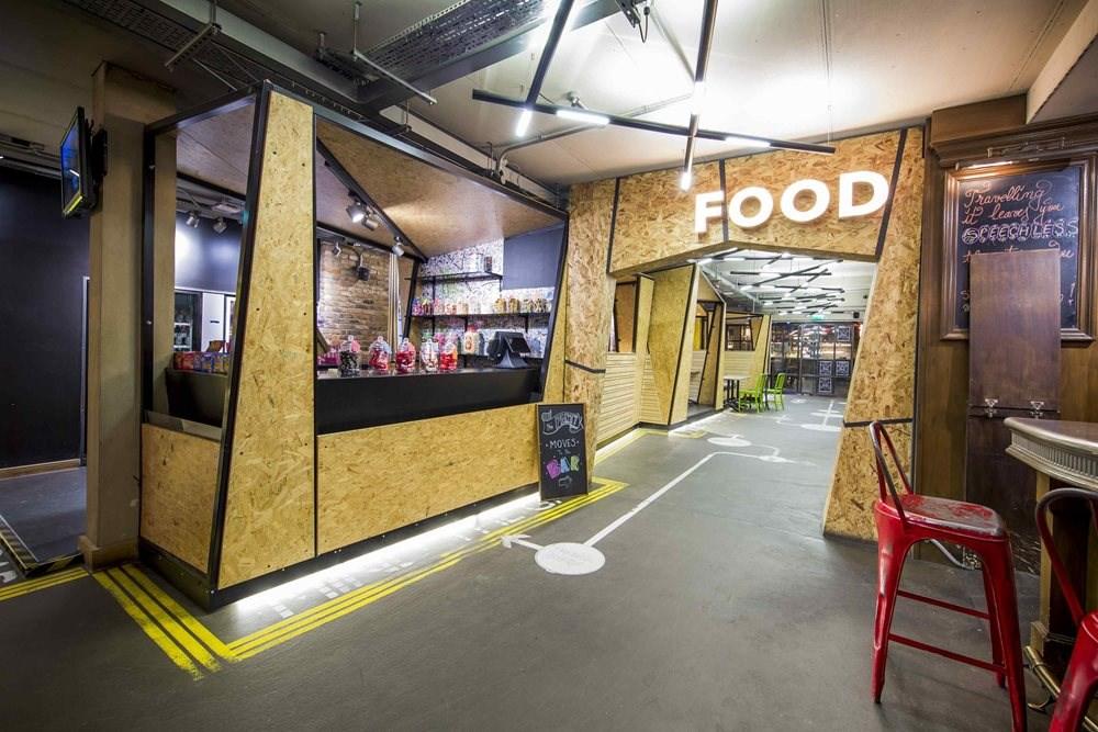 Generator London, Cafe/Restaurant