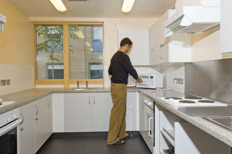 James Lighthill House kitchen