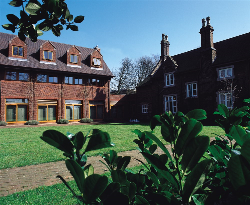 Keele Management Centre Courtyard