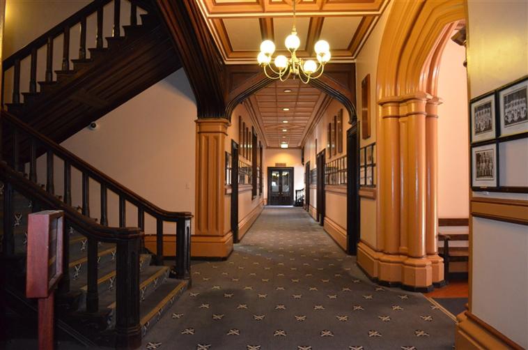 Main Building Hallway