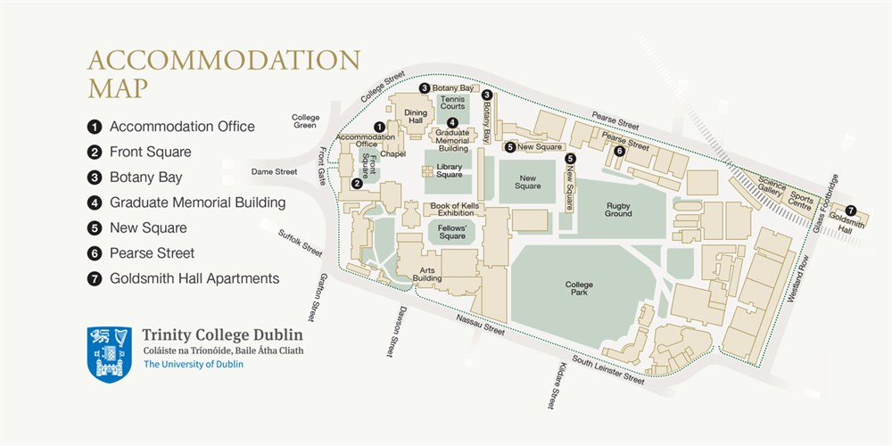 Goldsmith Hall Trinity College Dublin Guest B Amp B Book Now