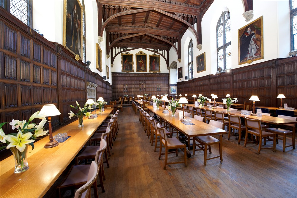 Oxford College Rooms Booking
