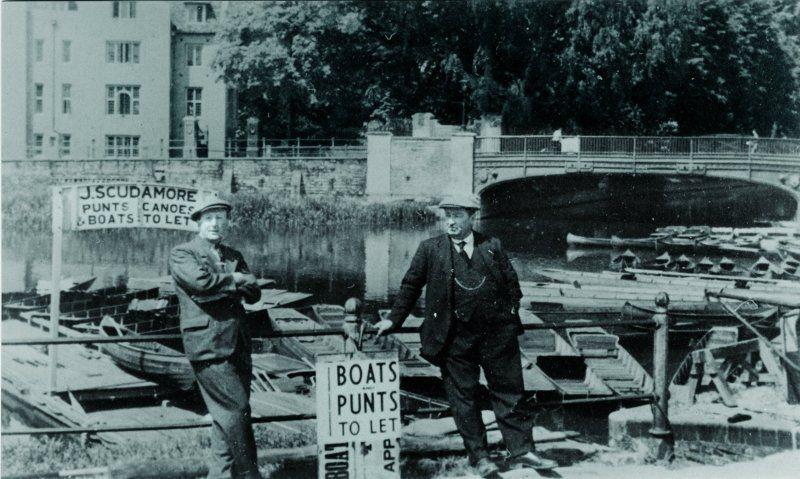 La stazione Mill Lane - foto di c. 1930