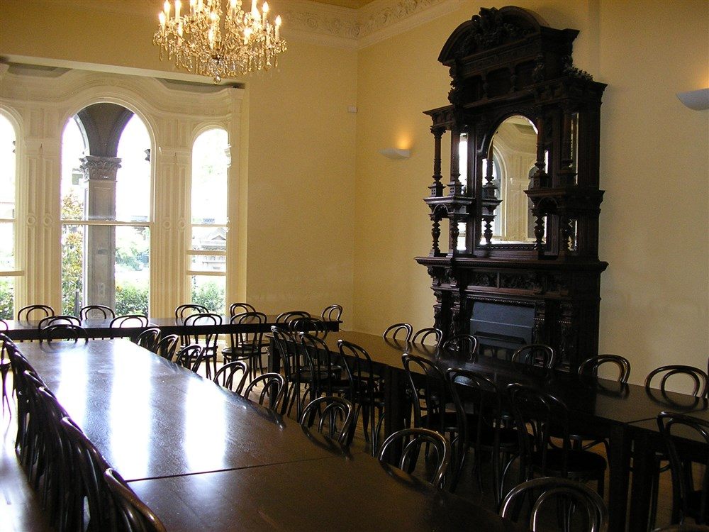 Medley hall carlton melbourne university residence for Dining room 211 melbourne