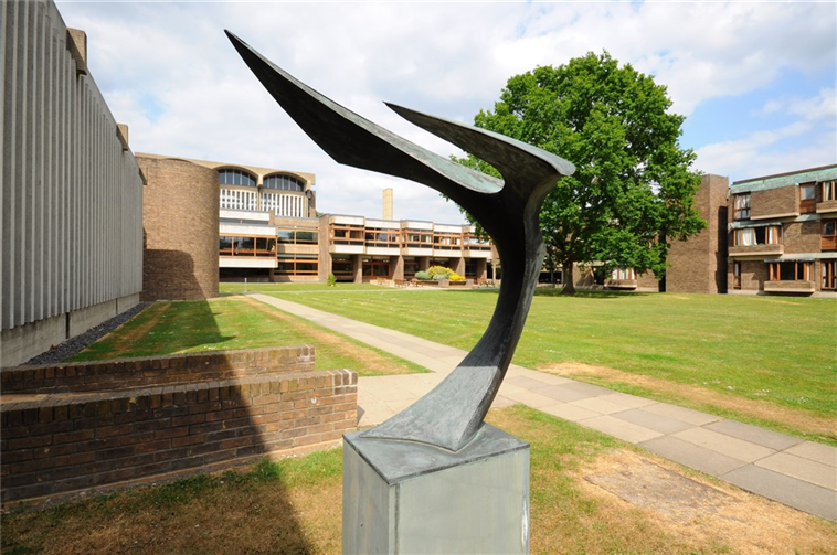 Peter Lyon - 'Flight' Sculpture, Churchill College