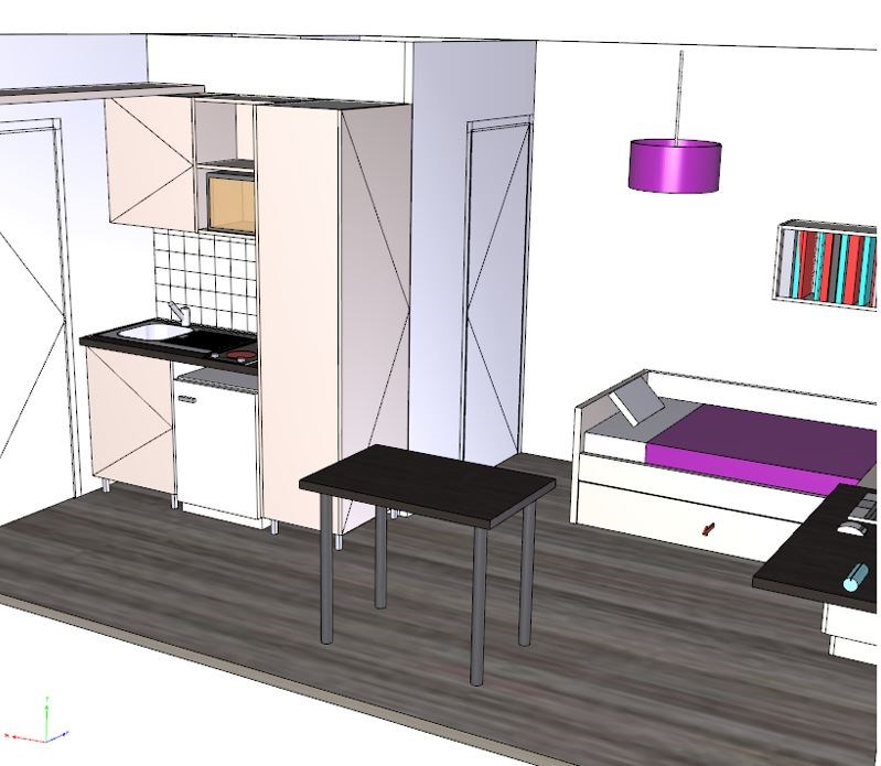 residence ideal campus montpellier long stays guest b b book now. Black Bedroom Furniture Sets. Home Design Ideas