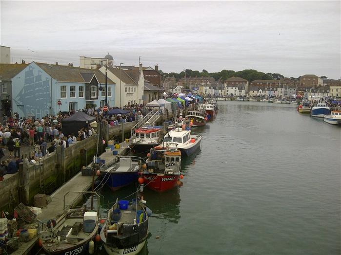 Weymouth Quay - 20 mins drive from Mallards B&B