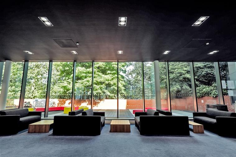 Reception area lounge