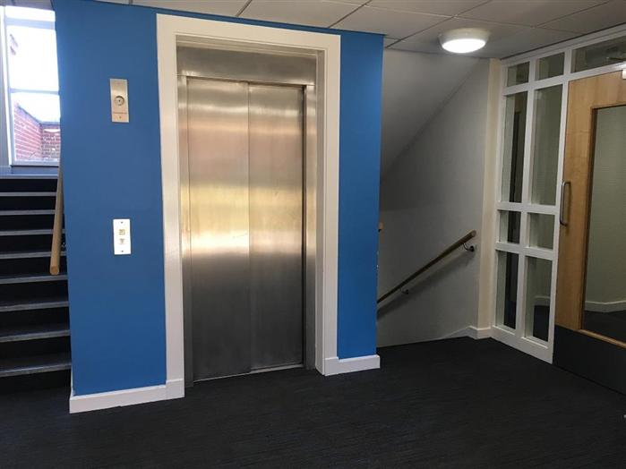 Richard Laws Building Lobby & Lift