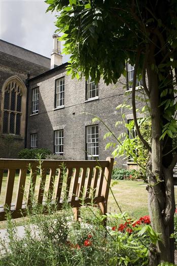 The Bursar's Garden