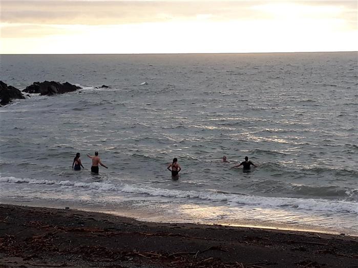 Guests swimming 28th Dec 2018 !