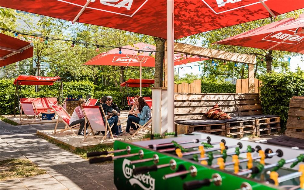 Beer garden (open in summer)