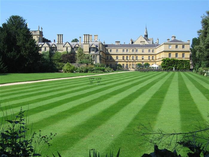 Garden quad from lawns