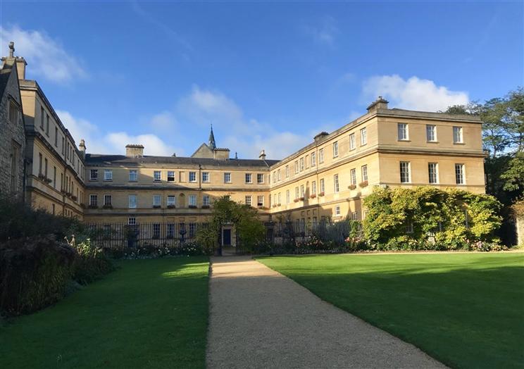Trinity Lawns and Garden Quad