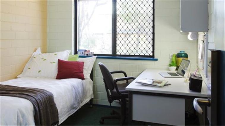 Bedroom in Six Bedroom Apartment
