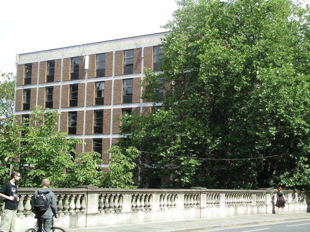 The Waynflete Building from Magdalen Bridge