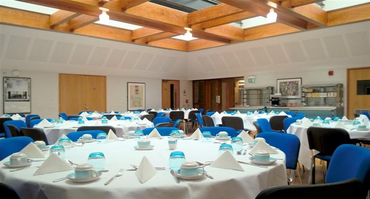 Harvey Court dining room